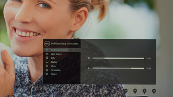 Dell UltraSharp U2520D OSD Picture