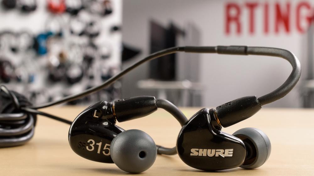 Shure SE315 Design Picture