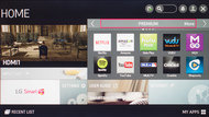 LG LF5800 Smart TV Picture
