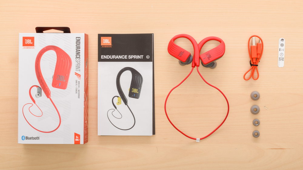 JBL Endurance Sprint In the box Picture