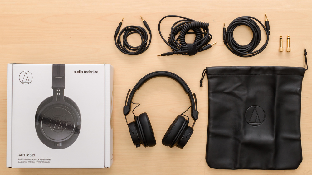 Audio-Technica ATH-M60x In the box Picture