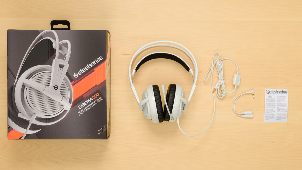 SteelSeries Siberia 200 In the box Picture