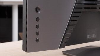 Dell S2721DGF Controls Picture