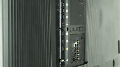 Samsung JU6700 Side Inputs Picture