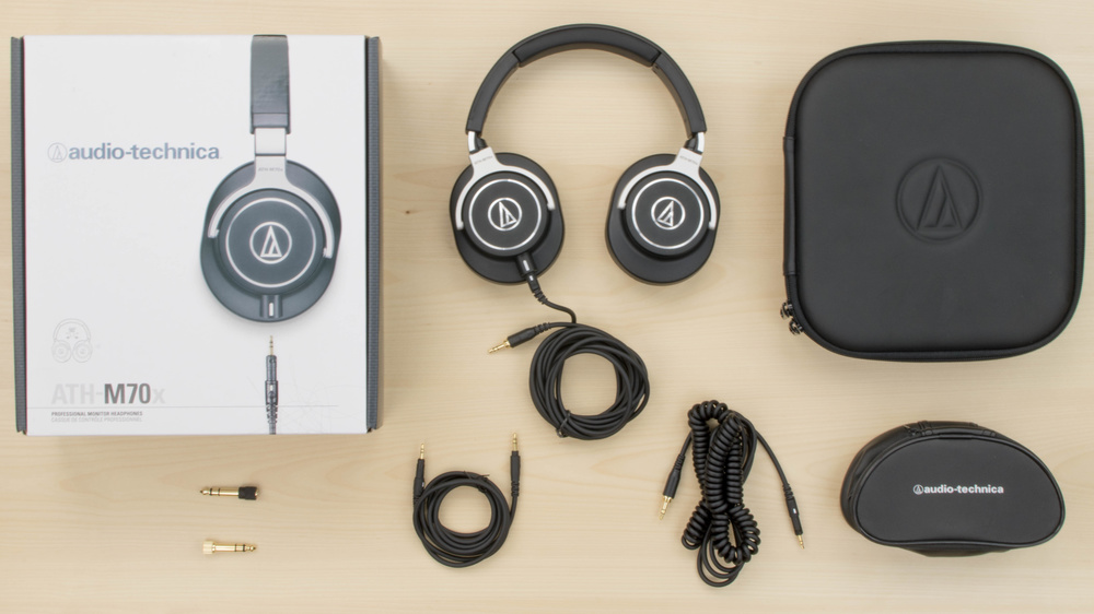 Audio-Technica ATH-M70x In the box Picture