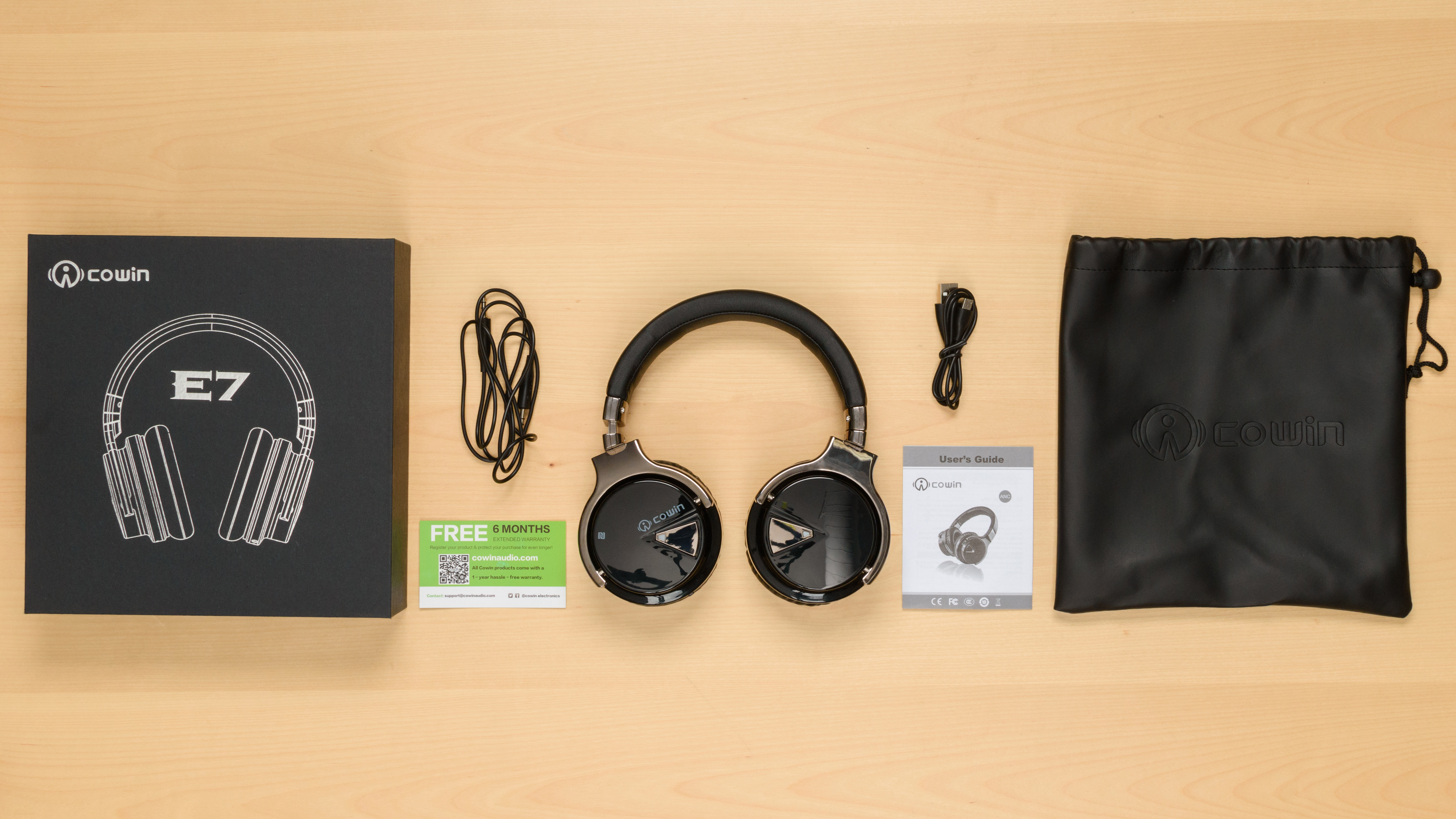 Cowin E-7 Active Noise Cancelling Bluetooth Review