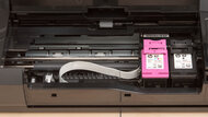 HP OfficeJet 250 Cartridge Picture In The Printer