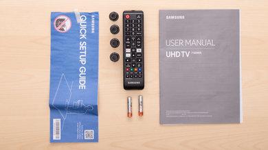 Samsung RU7100 In The Box Picture