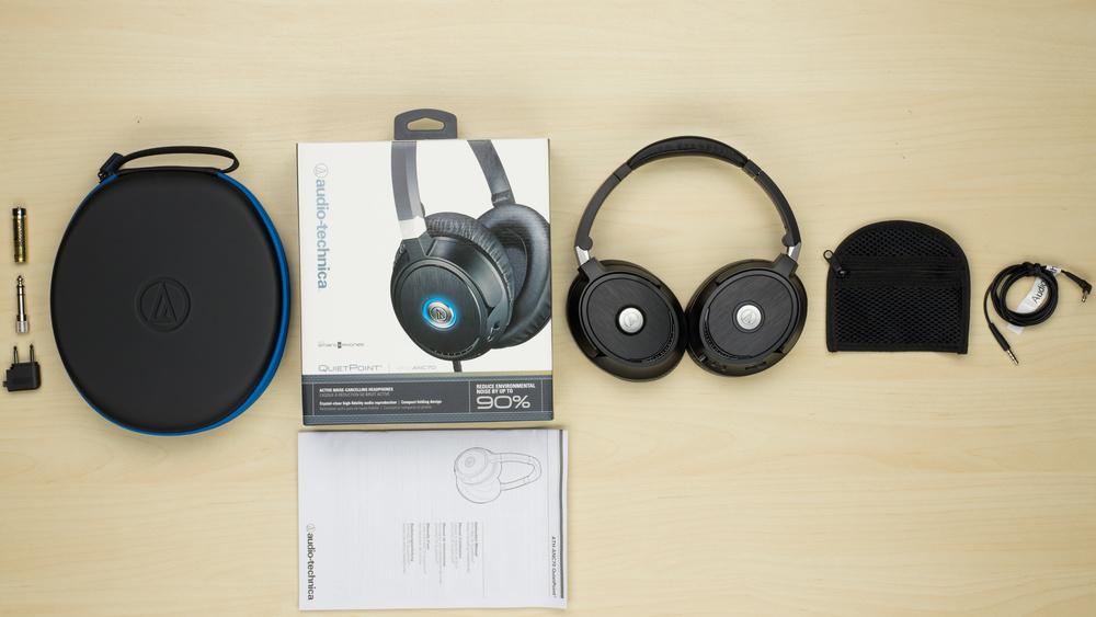 Audio-Technica ATH-ANC70 In the box Picture