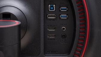 LG 27GN750-B Inputs 1