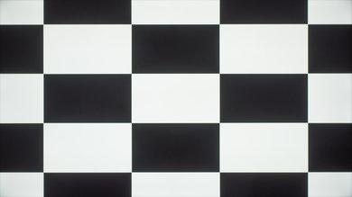 Samsung KU6300 Checkerboard Picture
