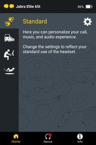 Jabra Elite 65t Truly Wireless App Picture