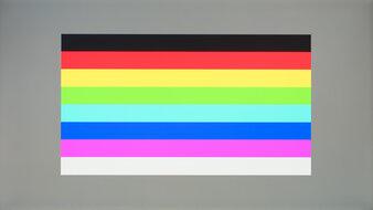 ViewSonic Elite XG270QG Color Bleed Horizontal