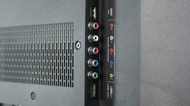Vizio E Series 1080p 2016 Side Inputs Picture