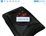 Kensington Expert Mouse Wireless Trackball 3D Model