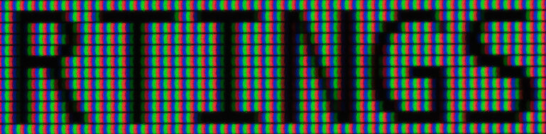 Gigabyte M27Q ClearType On