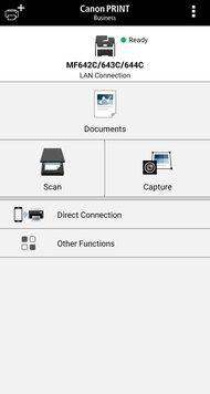 Canon imageCLASS MF644Cdw App Printscreen