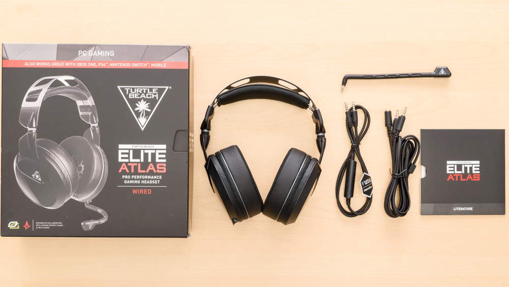 Turtle Beach Elite Atlas In the box Picture