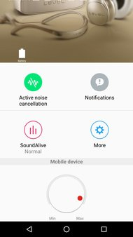 Samsung Level U Pro Wireless App Picture