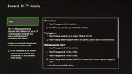 Hisense H8G Xbox Series X Screenshot