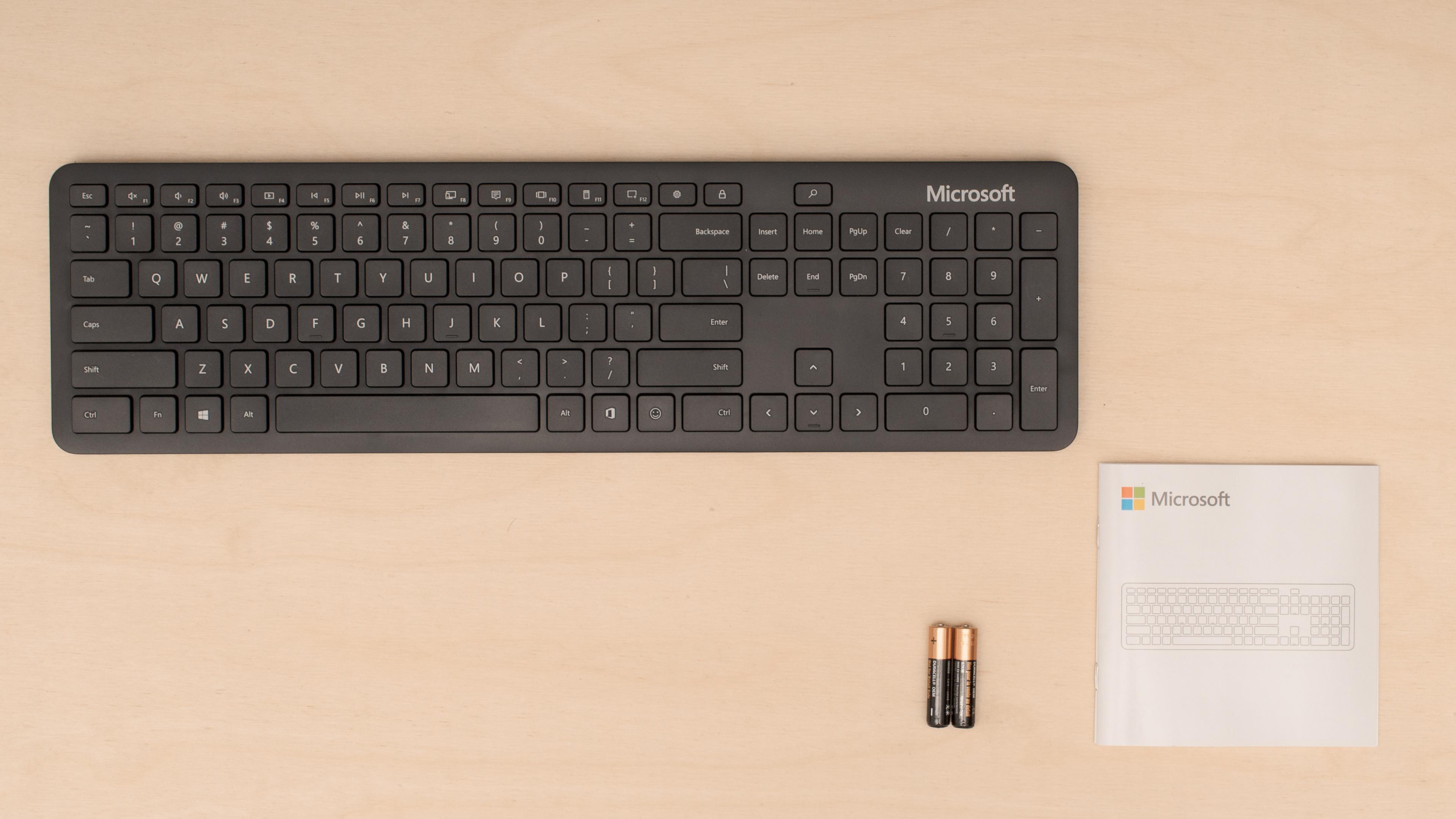 Microsoft Bluetooth Keyboard Review Rtings Com