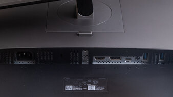 Dell UltraSharp U2720Q Inputs 1