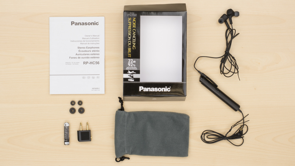 Panasonic RP-HC56 In the box Picture