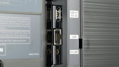 Samsung MU9000 Side Inputs Picture