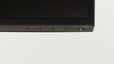 Dell U3417W Controls picture
