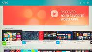 Samsung Q7F/Q7 QLED 2017 Apps Picture