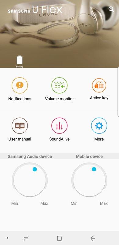Samsung U Flex App Picture