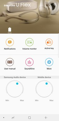Samsung U Flex Wireless App Picture