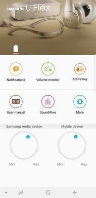 Samsung U Flex Wireless App Picture