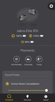 Jabra Elite 85t Truly Wireless App Picture
