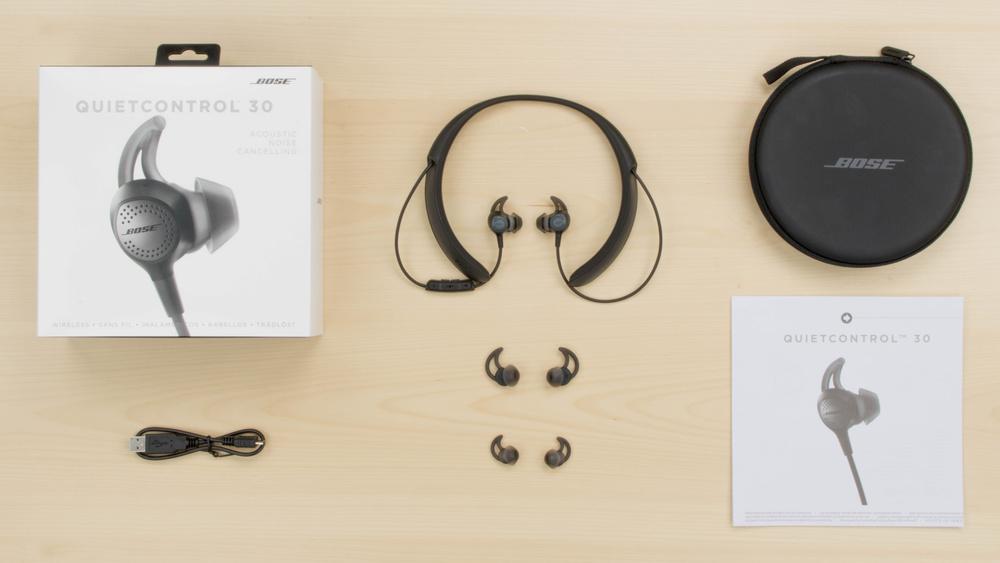 Bose QuietControl 30 In the box Picture