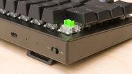 Razer BlackWidow V3 Mini HyperSpeed Build Quality Close Up