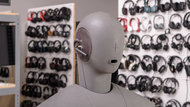 Jabra Steel Bluetooth Headset Angled Picture