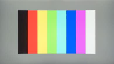 Sceptre C325W Color bleed vertical