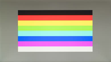 ViewSonic XG2402 Color bleed horizontal