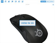 SteelSeries Rival 310 3D Model