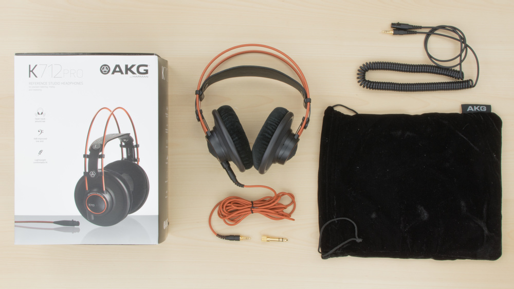 AKG K712 PRO In the box Picture