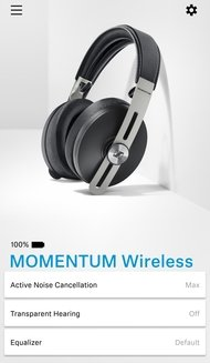 Sennheiser Momentum 3 Wireless App Picture