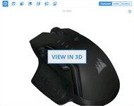 Corsair GLAIVE PRO 3D Model