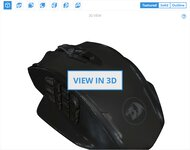 Redragon M913 Impact Elite 3D Model