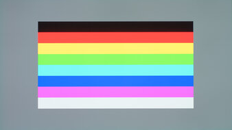 Gigabyte AORUS FO48U OLED Color Bleed Horizontal