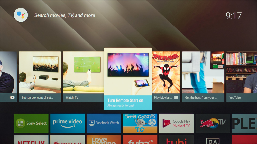 Sony X800G Smart TV Picture