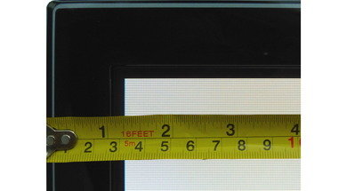 Samsung F5500 Plasma Borders