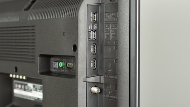 Sony X800E Side Inputs Picture