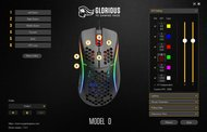 Glorious Model D Software settings screenshot