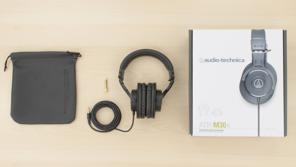 Audio-Technica ATH-M30x In the box Picture